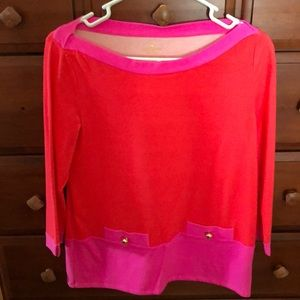 Kate Spade cotton blend top